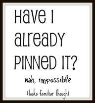 Love Pinterest !...
