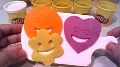 Play Doh Smiley Face * Cutters Fun Сreative For Kids
