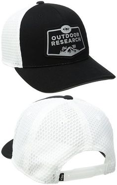 8ae342c38f9d3 Hats and Headwear 158918  Outdoor Research Performance Trucker Run Hat Black  One Size -
