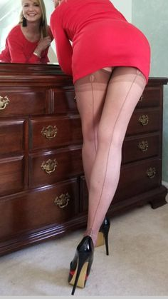Pantyhose upskirts brides office parties ect