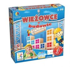 Smart games - Wieżowce w budowie , Klocki i układanki, Zabawki, Dziecko - ekoMaluch.pl