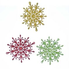 Each of these fantastic tree decoration is designed in the shape of a snowflake and decorated with glitter Perfect for Christmas and fantastic for any seasonal celebration this spectacular star will look great decorating the top of any Christmas Tree. Festival Decorations, Christmas Tree Decorations, Christmas Ornaments, Hanging Ornaments, Hanging Decorations, Seasonal Celebration, Xmas Party, Snowflakes, Glitter
