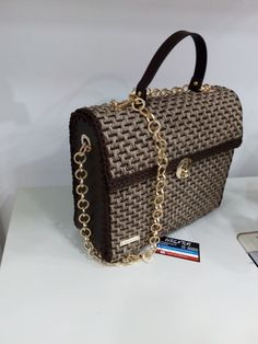 Crochet, Handmade, Bags, Fashion, Handbags, Moda, Hand Made, Fashion Styles, Ganchillo