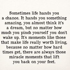 #life hands you a #chance.. #inspiration #motivation #quotes #thedailylife