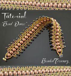 """Bead Dance"" beading tutorial by BeadedTreasury."