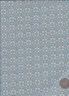 "Circles White  ""Mosaic Bloom"" designed by Rosalie Dekker."