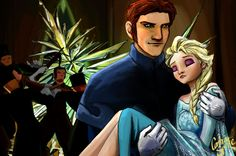 "Beware the Frozen Heart by ContraSprite.deviantart.com on @deviantART - Hans and Elsa from ""Frozen"""