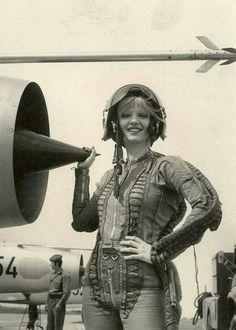Warsaw Pact Cold War pin-up, Yugoslavian fighter pilot
