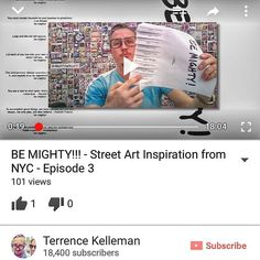 Get my thoughts behind the thoughts of the #BEMIGHTY #flyer #artPROJECT - linked up in my profile  #youtuber since 2006!!! Where's my medal!