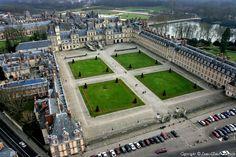✈️ Photo aérienne de : Fontainebleau - Seine-et-Marne (77)