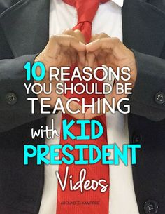 Do you use Kid President videos in your classroom? If not, you should! Kids love them! As a primary teacher, here's what I've discovered: The opportunities for teaching language, writing, kindness, community building and fostering friendships are endless. Check out these 10 Reasons You Should Be Teaching with Kid President Videos and I think you'll agree!