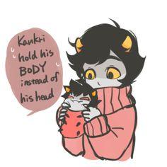 Karkat grub and Kankri