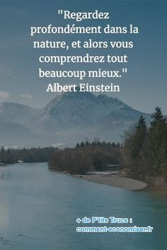 with nature quotes life / with nature quotes ; with nature quotes life ; with nature quotes words ; quotes about nature ; Quotes Thoughts, Life Quotes Love, Best Quotes, Positive Attitude, Positive Quotes, Citations D'albert Einstein, Meaningful Quotes, Inspirational Quotes, Nature Quotes Adventure