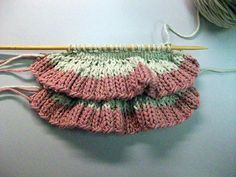 Row and Rows of Ruffles Tutorial | Creative Knitting BlogCreative Knitting Blog