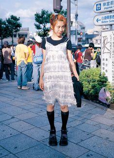 eBook-FRUiTS magazine No.014 Punk Outfits, Cool Outfits, Fashion Outfits, Fashion Styles, Harajuku Fashion, Japan Fashion, Harajuku Girls, Fruits Magazine, 2000s Fashion