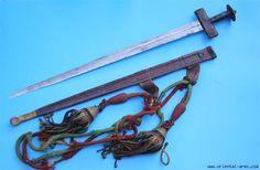 Tuareg 'takouba' sword and scabbard