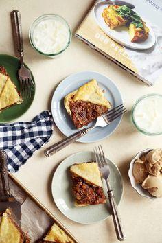 Deb's Chocolate Pecan Slab Pie