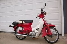 1981 Honda Passport C70 - just like the one I used to have.