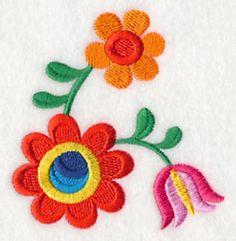 Valentin Flower 2 design (K4962) from www.Emblibrary.com
