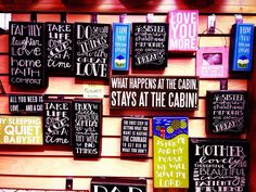 Box Wooden Signs  Made in the USA  Gifts For Memories