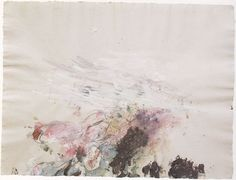 Lyrical Abstraction by Cy Twombly