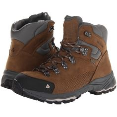 Vasque St. Elias GTX (Bungee Cord/Silver Cloud) Women's Hiking Boots featuring polyvore, women's fashion, shoes, athletic shoes, bungee shoes, light weight hiking boots, lightweight shoes, long shoes and lightweight hiking boots