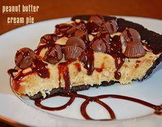 Chaos Served Daily » Blog Archive » Chocolate Peanut Butter Pie