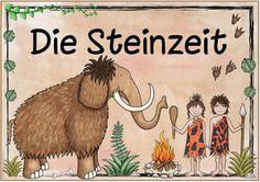 """Ideenreise: Themenplakat """"Die Steinzeit"""""""