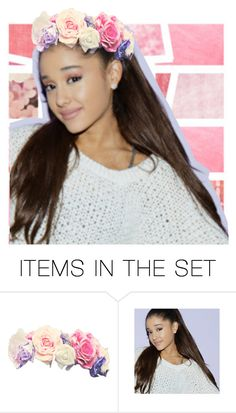 """""""the queen is flower crowned!"""" by cutepeppermint ❤ liked on Polyvore featuring art"""