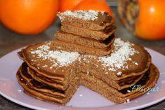 PANCAKES CU CAROB SI CLEMENTINE - Flaveur Pancakes, Breakfast, Desserts, Food, Bebe, Morning Coffee, Tailgate Desserts, Deserts, Essen