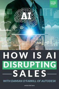Learn about the future of AI in sales from artificial intelligence practitioner Damian O'Farrill, Autodesk's Manager for Data Science and Data Strategy. Data Science Definition, Artificial Intelligence Article, Artificial Intelligence Algorithms, Machine Learning Tools, Artificial Neural Network, Computer Service, Gaming Setup, Gaming Computer