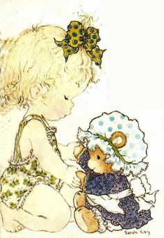 Time to get Dressed Teddy Mary May, Decoupage Vintage, Vintage Drawing, Sweet Pic, Holly Hobbie, Australian Artists, Cute Images, Cute Illustration, Illustrations