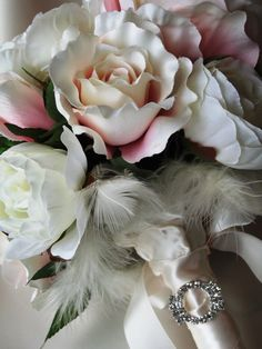 My latest creation - a shabby chic bouquet