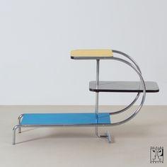 home furniture ideas Bauhaus Furniture, Art Deco Furniture, Steel Furniture, Mid Century Furniture, Furniture Styles, Vintage Furniture, Cool Furniture, Modern Furniture, Furniture Design