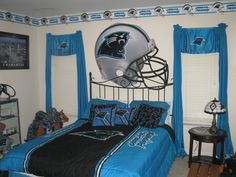 Marvelous It Was Hard Just To Pick One Or Two Photos From This Fan! Their Entire  House Is Full Of Panthers Themed!
