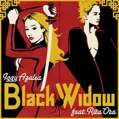 Caratula Frontal de Iggy Azalea - Black Widow (Featuring Rita Ora) (Cd Single)