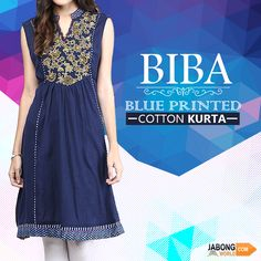 Indian Kurta, Indian Designer Wear, Indian Dresses, Well Dressed, Printed Cotton, Kurti, Short Sleeve Dresses, Women's Fashion, Casual
