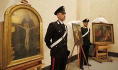 Recuperan en Milán cuadros robados por los nazis