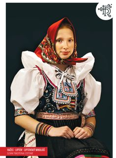 Važec, Liptov, Slovakia Multicultural Activities, Ethnic Outfits, Ethnic Clothes, Costumes Around The World, Family Roots, Folk Embroidery, Folk Fashion, Folk Costume, World Of Color