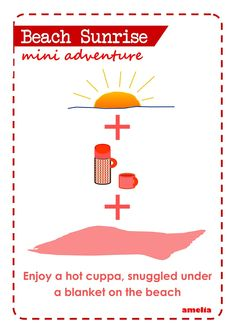 Take a mini adventure to spend time with your daughter (and kids). Free printable from Amelia Magazine www.ameliamagazine.net