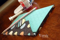 Legal Pad Cover Tutorial! How cute is this idea! You just need a few supplies & to pick out your paper!