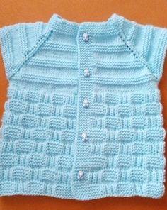 Hızlı ve Kolay Resim Paylaşımı Baby Cardigan Knitting Pattern, Baby Knitting Patterns, Knitting Designs, Knitting Stitches, Knit Vest, Crochet Kids Hats, Knitting For Kids, Knitted Hats, Knit Crochet