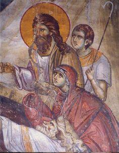 Frescele lui Alexandru Soldatov (Partea a Byzantine Icons, Byzantine Art, Religious Paintings, Religious Art, Life Of Christ, Orthodox Icons, Sacred Art, Mural Art, Illuminated Manuscript