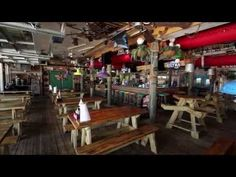 Waterfront Dining Room at Fudpuckers Okaloosa Island  ||  Private Wedding and Event Space, with Destin FL Catering, Private Bar, Stage, Waterview  ||  Wedding Venue Destin FL
