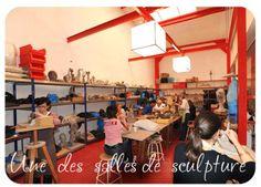 © ateliers rrose selavy - Cours et stages  d'arts plastiques  à Paris