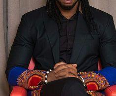 Dashiki Mens Jacket African dashiki suit dashiki by SageClothing