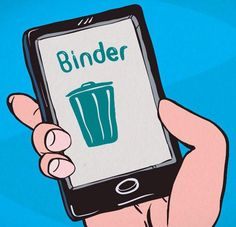 Now you can end your relationship the lazy way with an app that will handle your breakup for you. It's called Binder and it's absolutely perfect — if you're a horrible person.