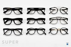 Per la prima volta in sei anni, SUPER, marchio affermato e conosciuto di occhiali da sole, si lancia e propone la collezione Optical, riproponendo le sue principali silhouette con lenti da vista. Il risultato è strepitoso, le linee e le forme pulite danno vita a una collezione di sicuro successo e che fin dal primo sguardo piace. SUPER ci propone nove modelli classici, che hanno contribuito al suo successo:Basic, Ciccio, Flat Top Small, People, America, Paloma, Giaguaro, 49er…