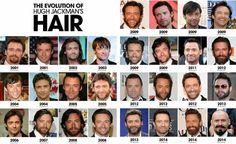 Evolution Hair Hugh Jackman