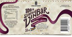 Etikett 100% Svarta Vinbär Label Design, Packaging Design, Company Logo, Design Packaging, Package Design